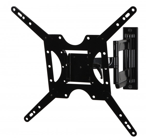 "Peerless Paramount Full Motion Wall Mount for 32"" to 50"" left side view extended"